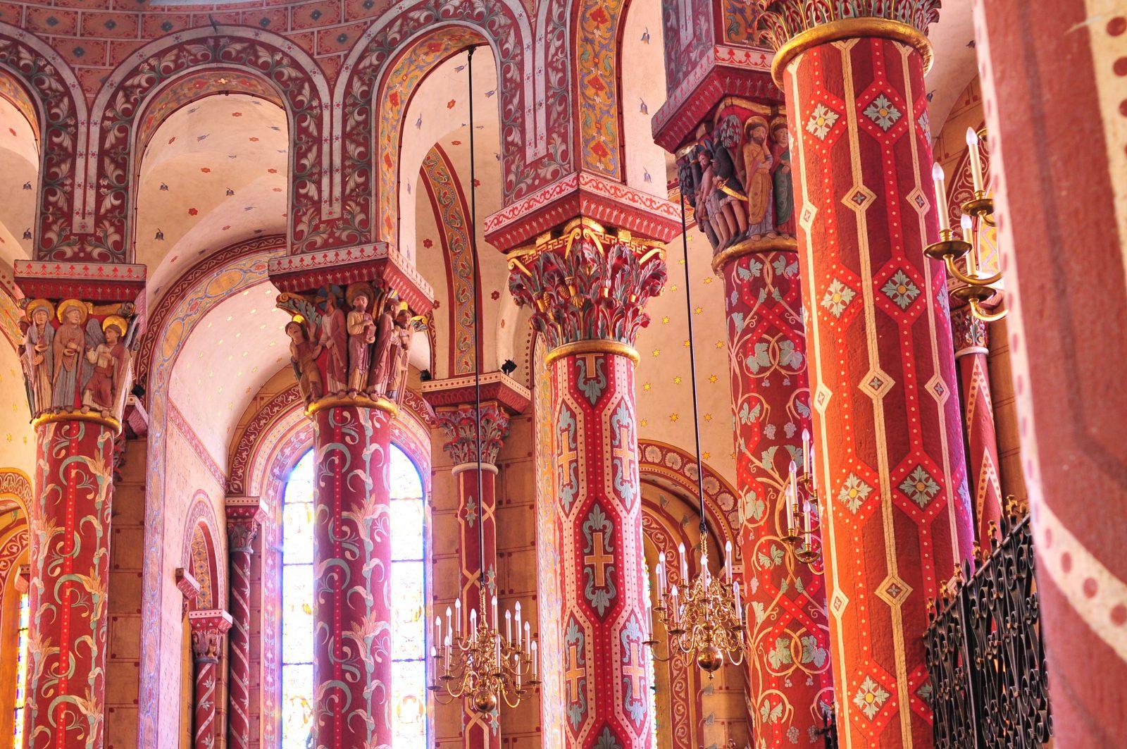 Intérieur de l'abbatiale d'Issoire