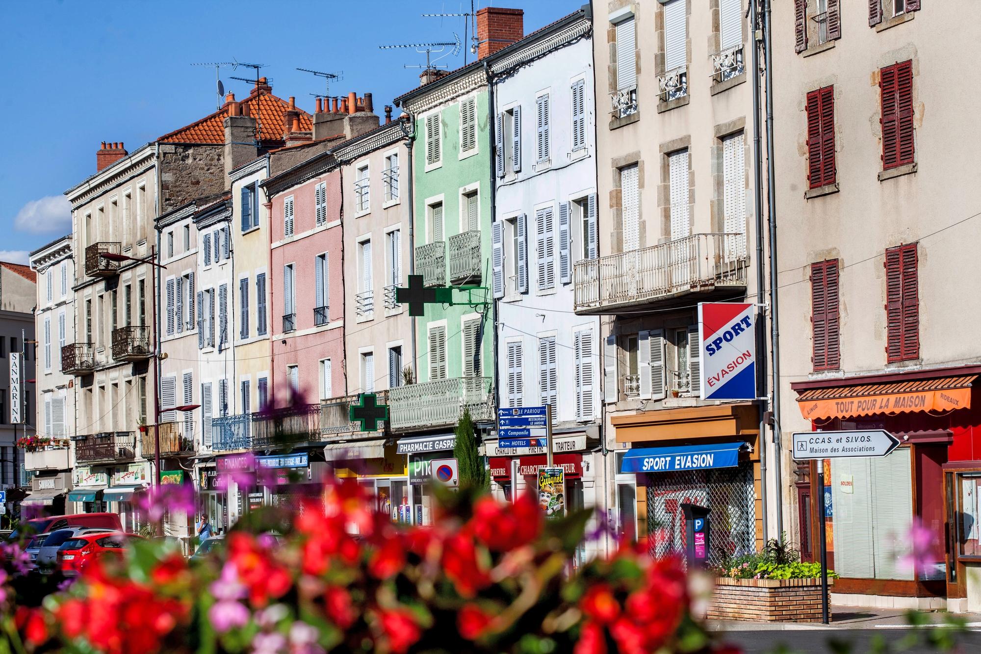 Sur les boulevards d'Issoire