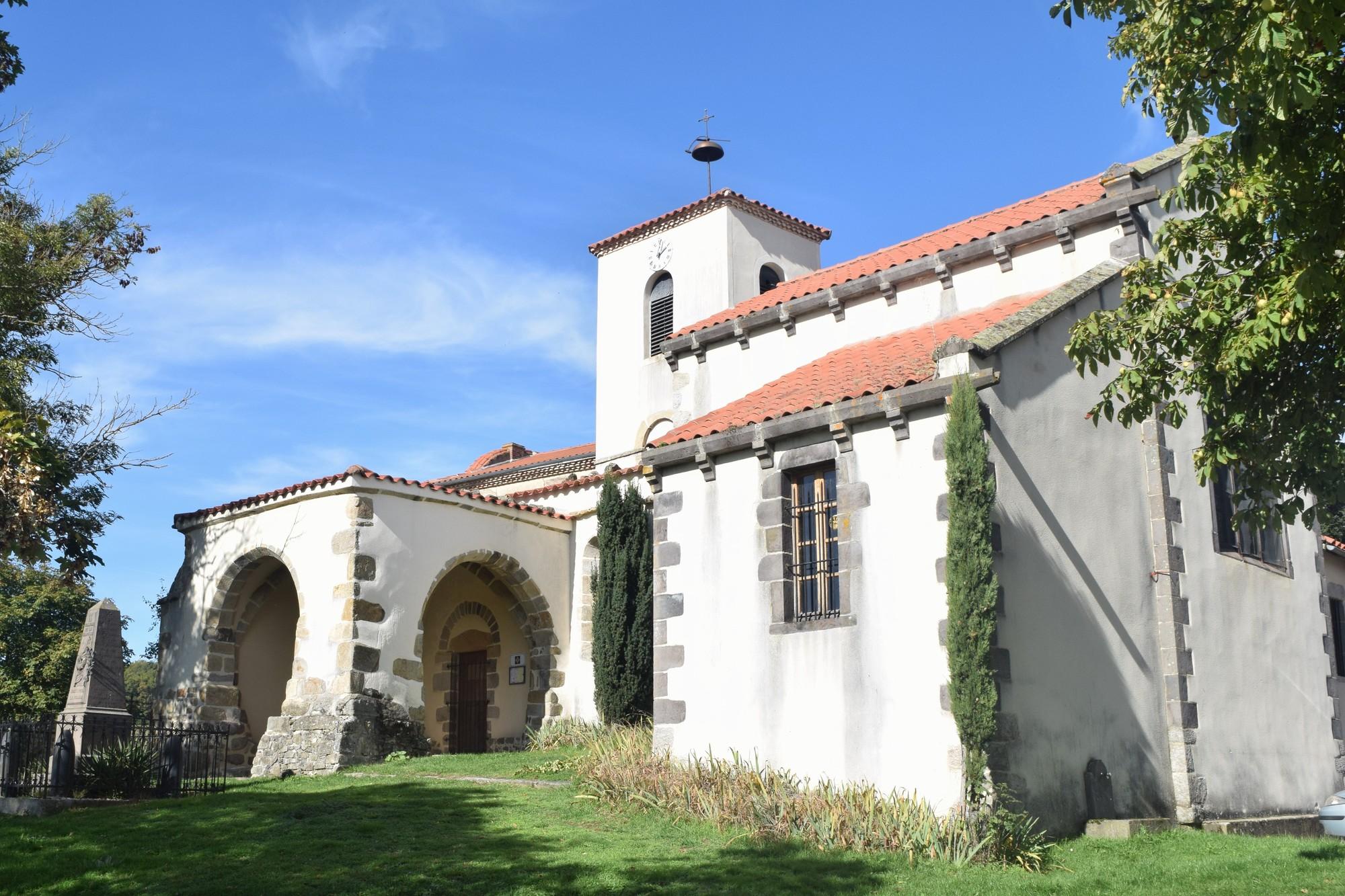 Eglise Saint-Julien, La chapelle-sur-Usson