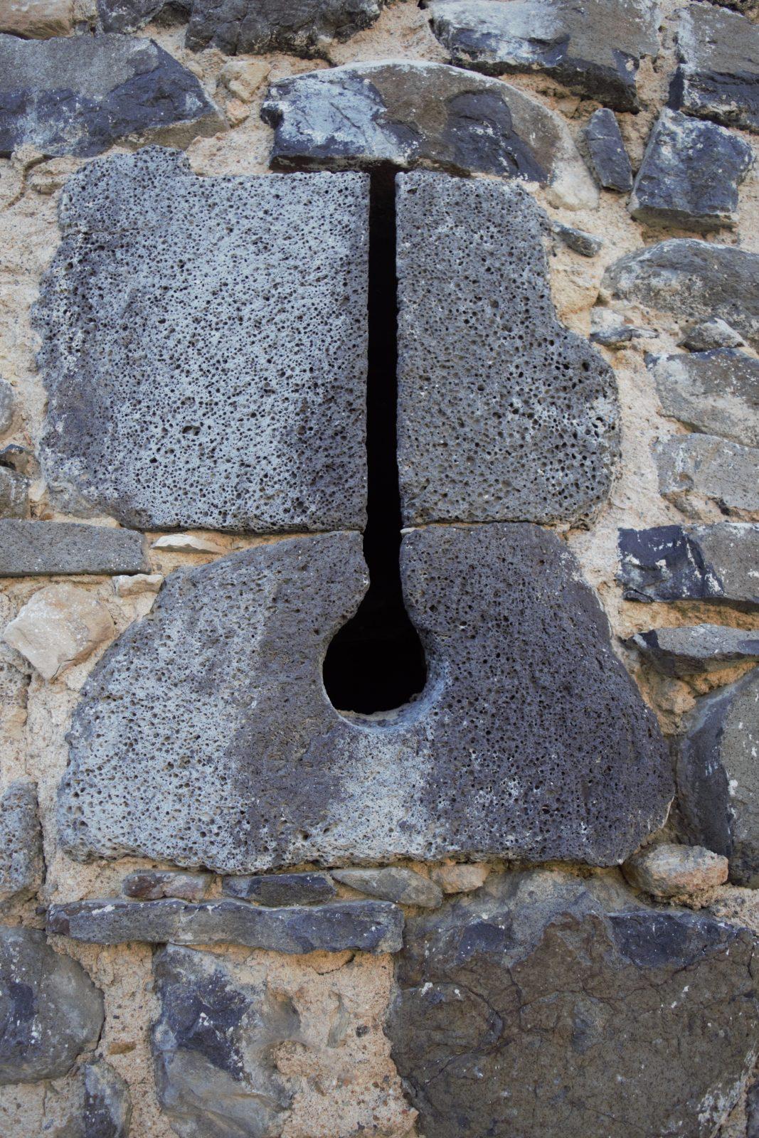 Détail, Fort villageois de Mareugheol