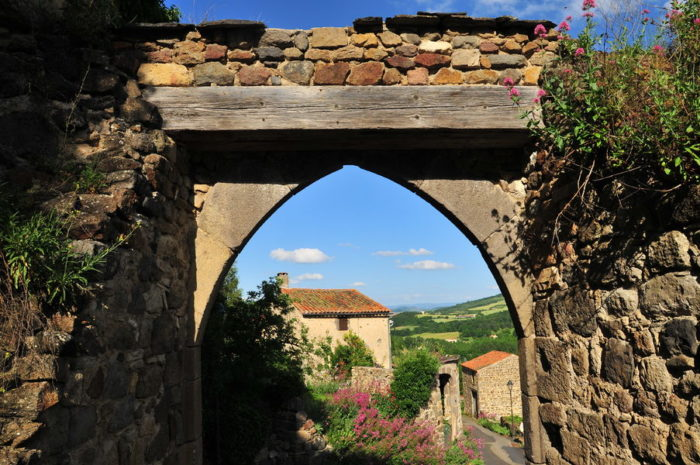 Village de Montaigut-Le-Blanc
