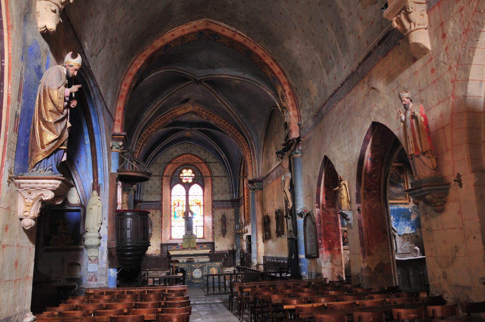 Village de Nonette, église Saint-Nicolas