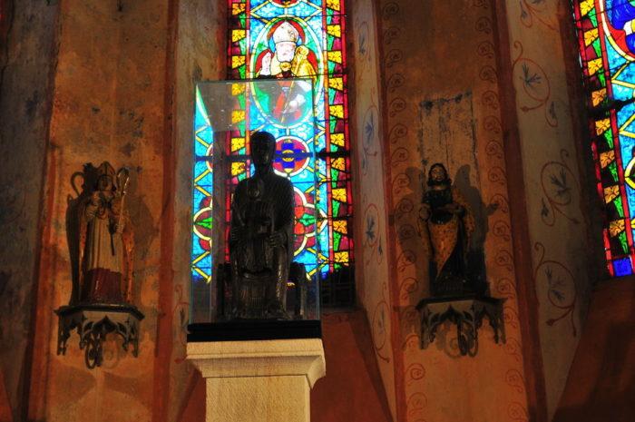 Vierge noire de Saint-Gervazy