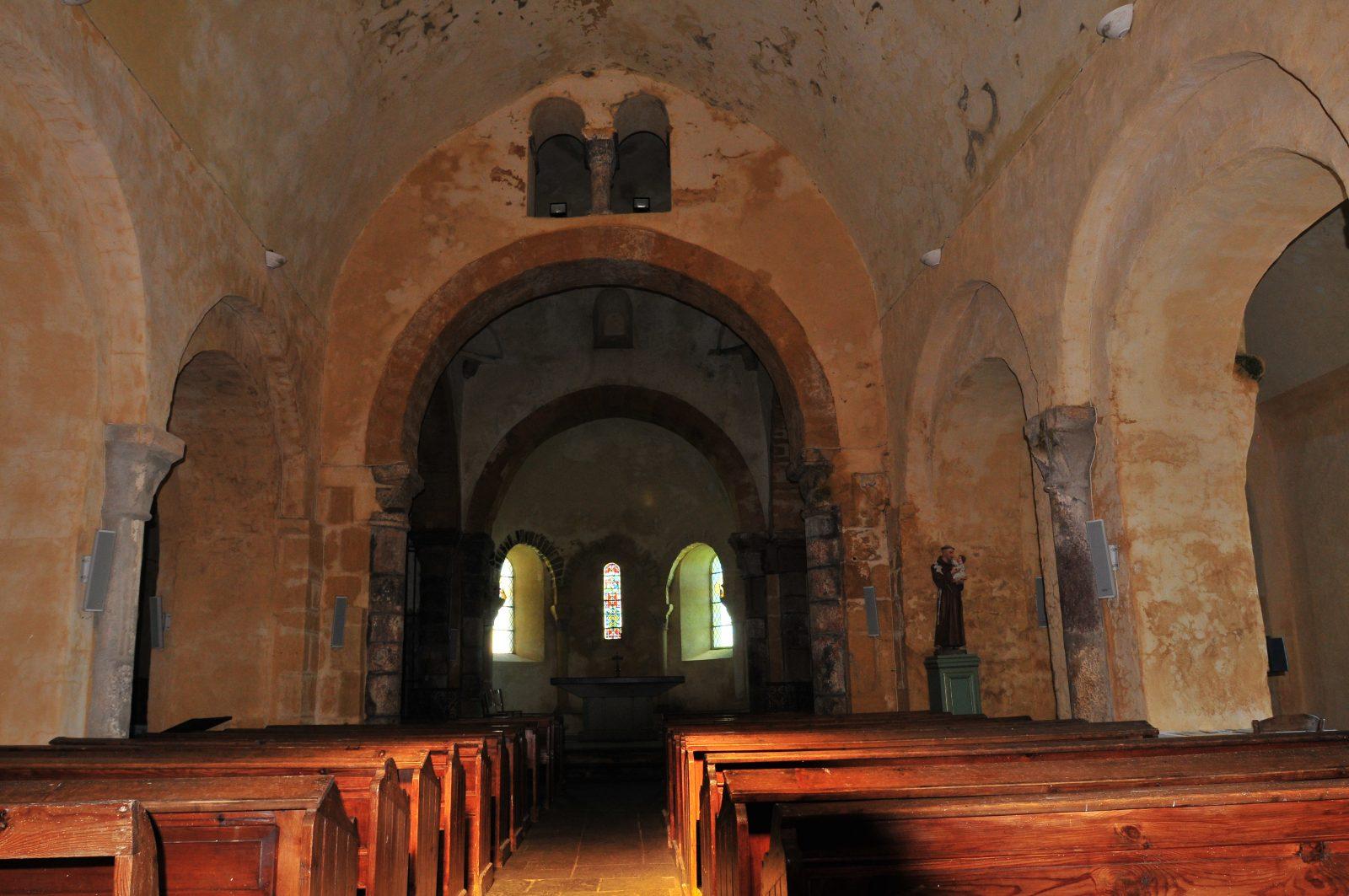 Eglise de Ronzières, Tourzel-Ronzières