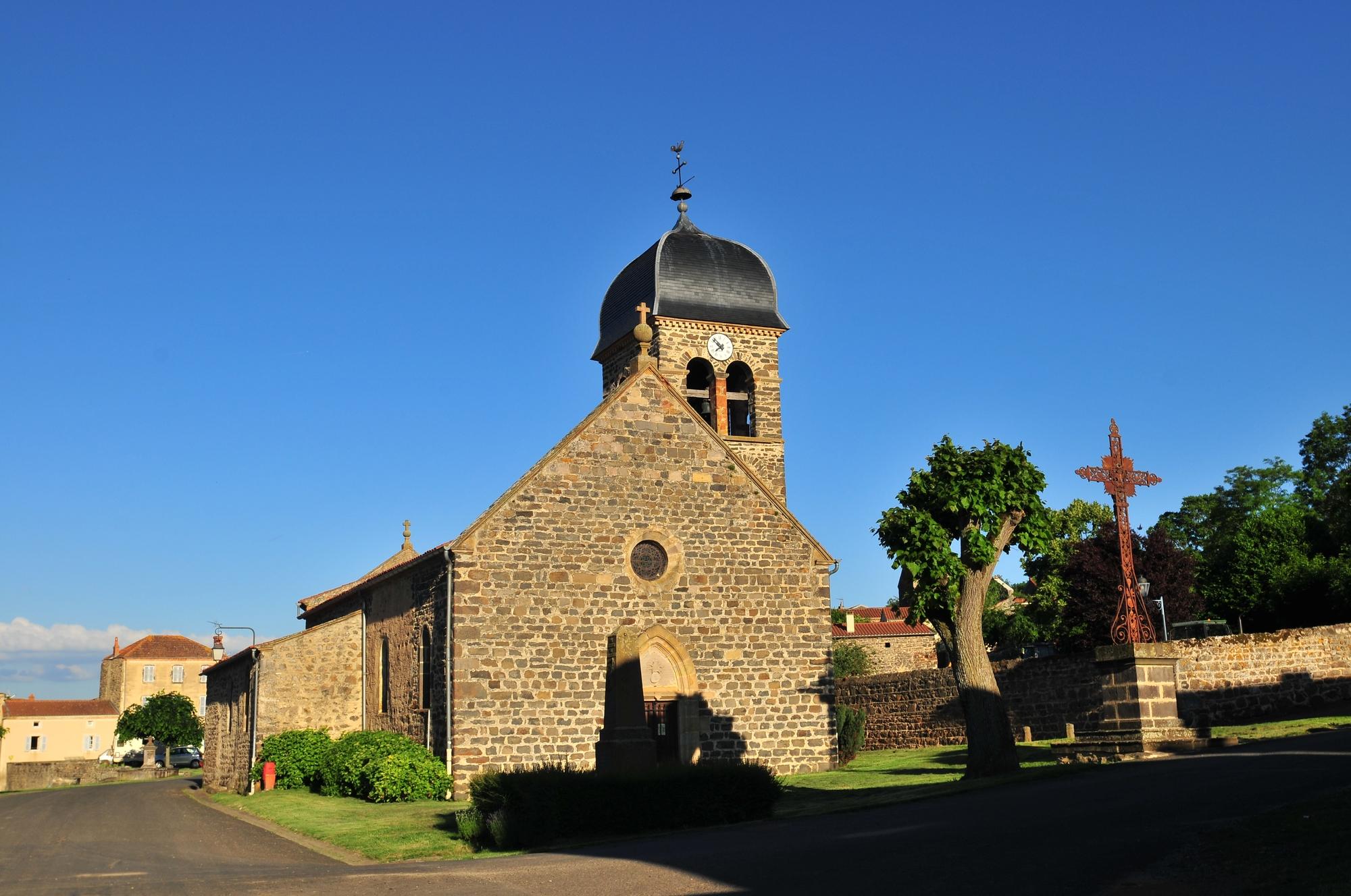 Eglise  Saint-Claude, Villeneuve-Lembron