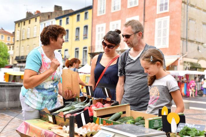 Au marché d'Issoire
