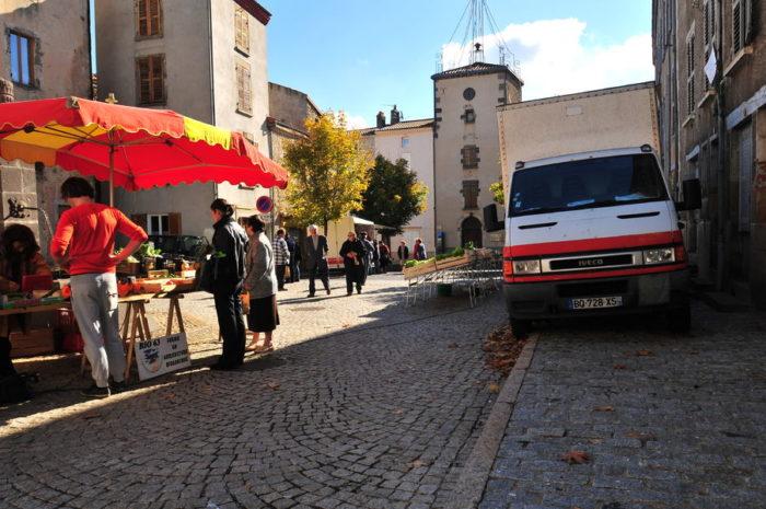Marché d'Ardes-sur-Couze