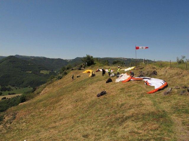 Parapente et deltaplane en Pays d'Issoire