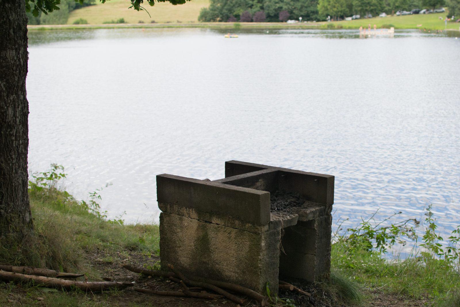Plan d'eau du vernet la varenne