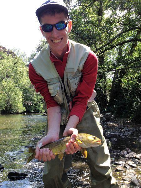 Guide de pêche auvergne, saint-babel