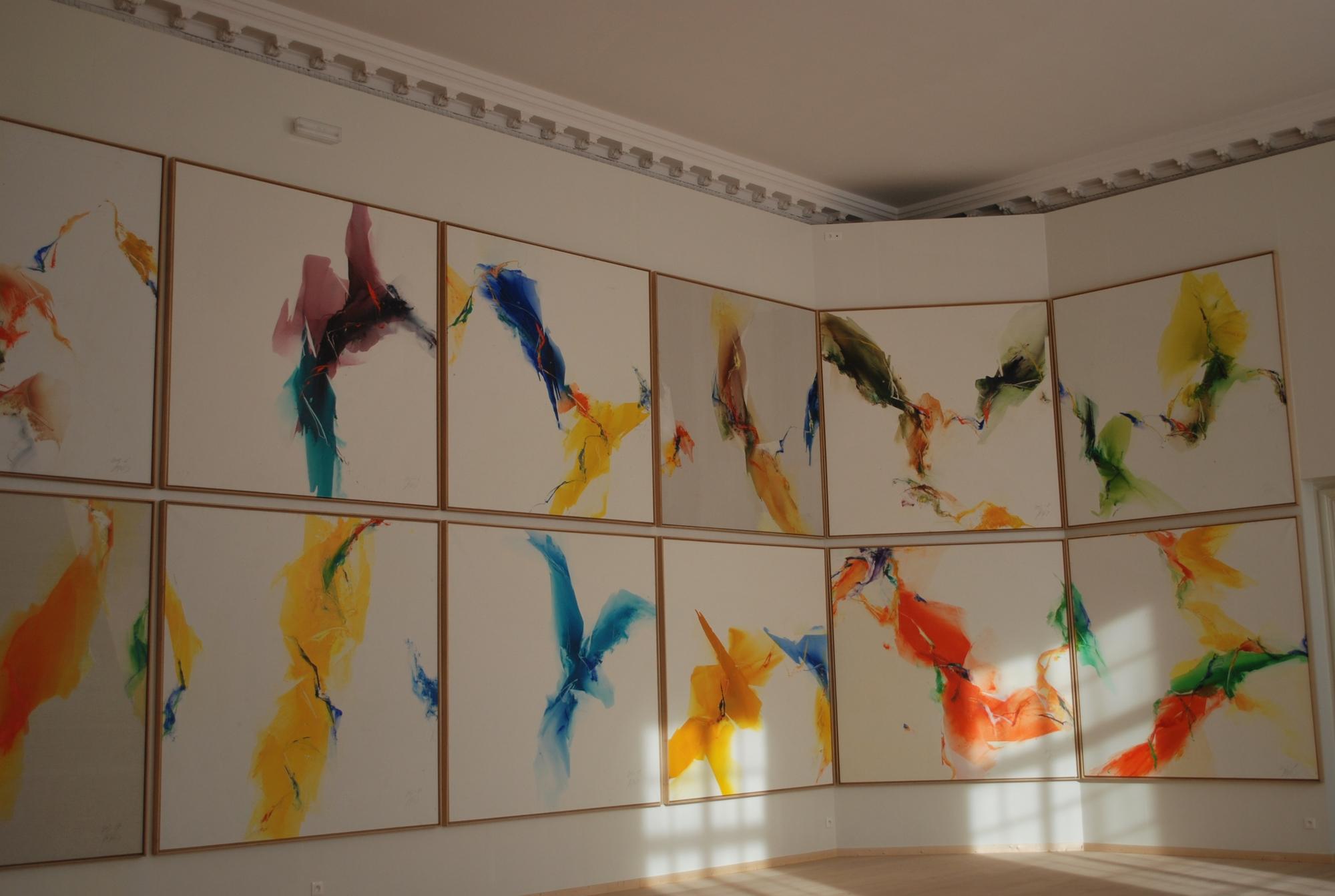 Espace jean Prouvé, exposition kim en joong