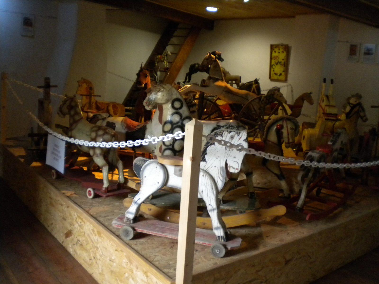 Musée du jouet cheval saint-gervazy