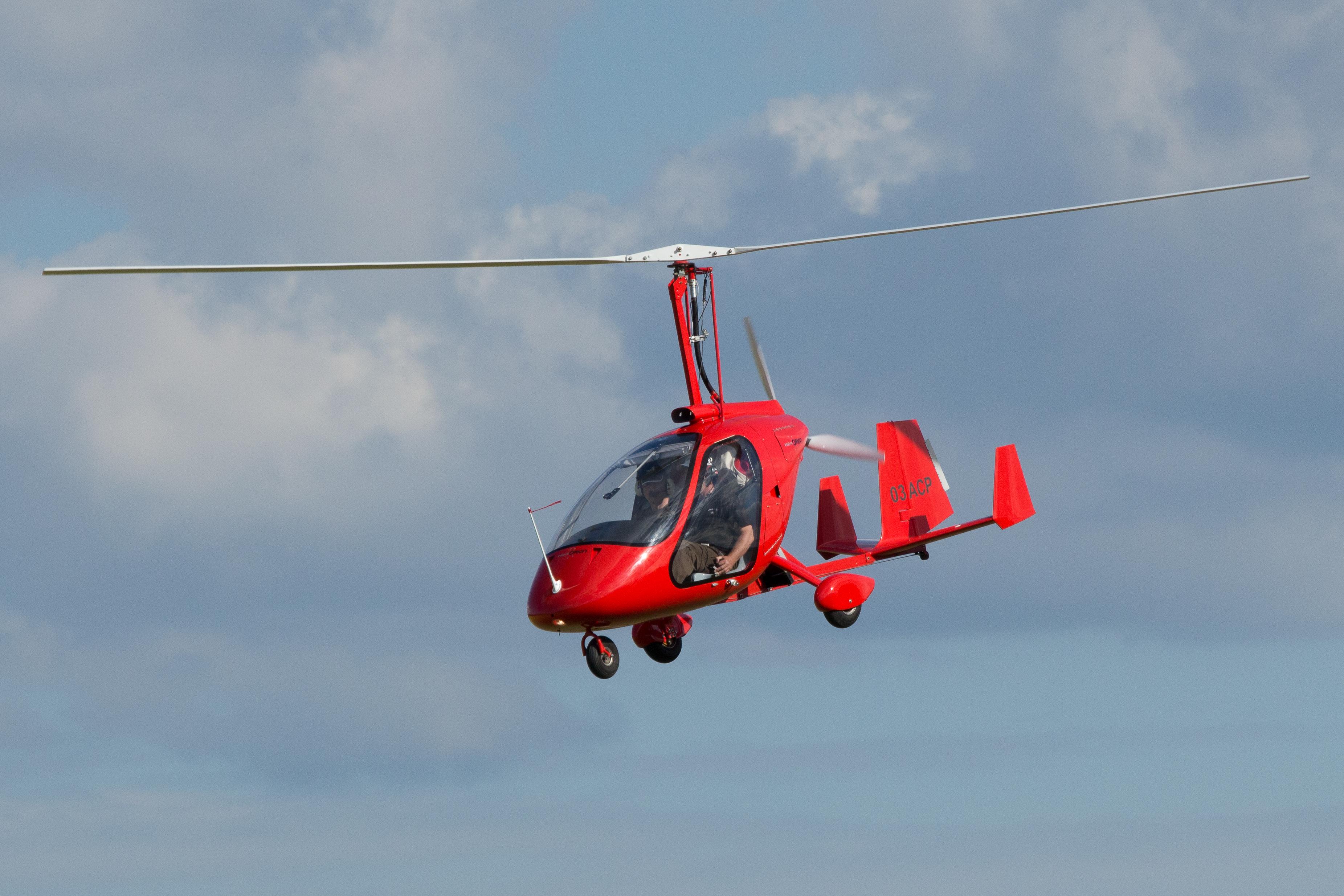 initation au pilotage en autogire