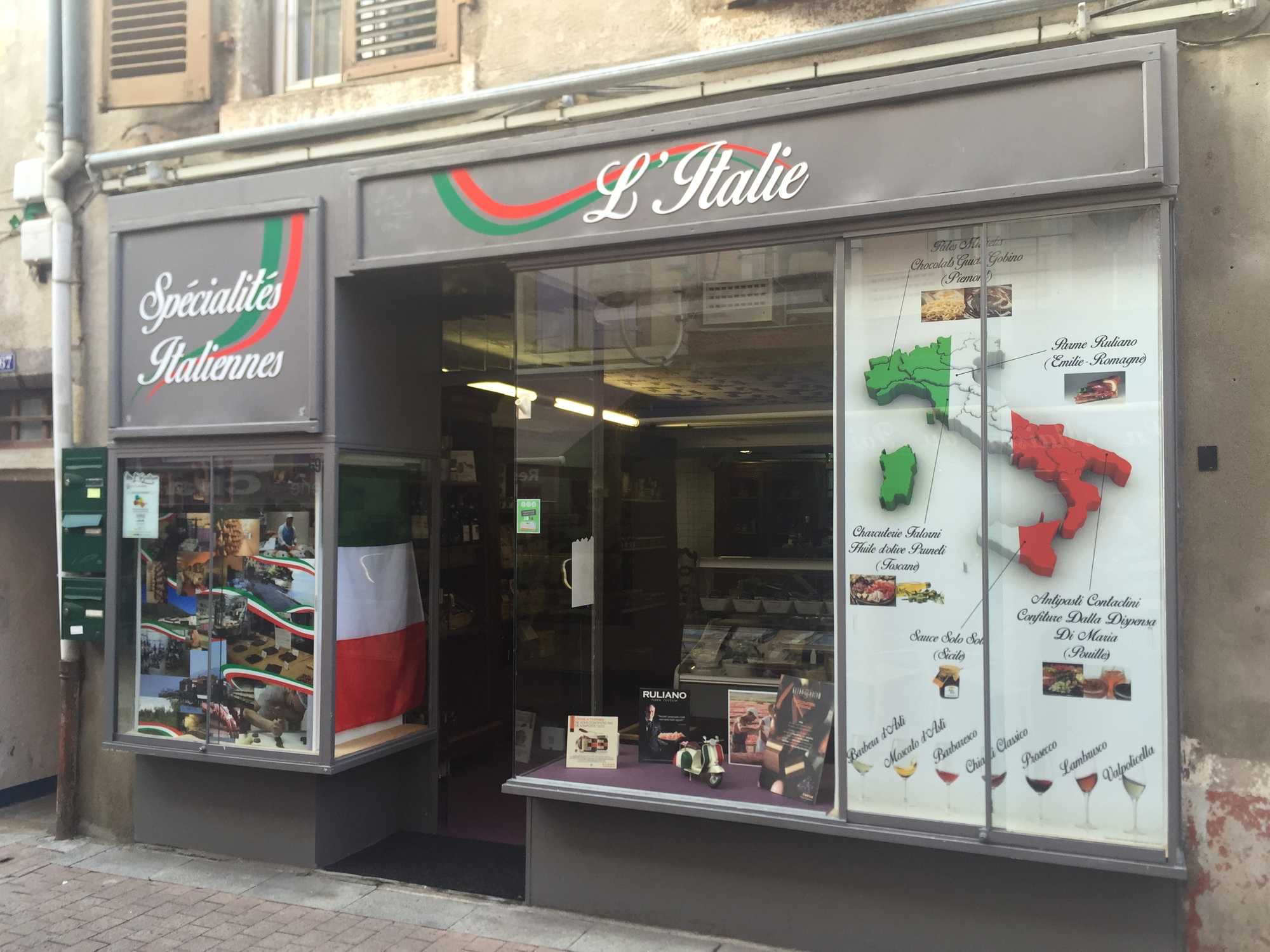 L'Italie – Issoire