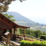 Chalet et paysage Parc Animalier d'Auvergne