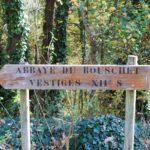 Signalisation abbaye du Boushet