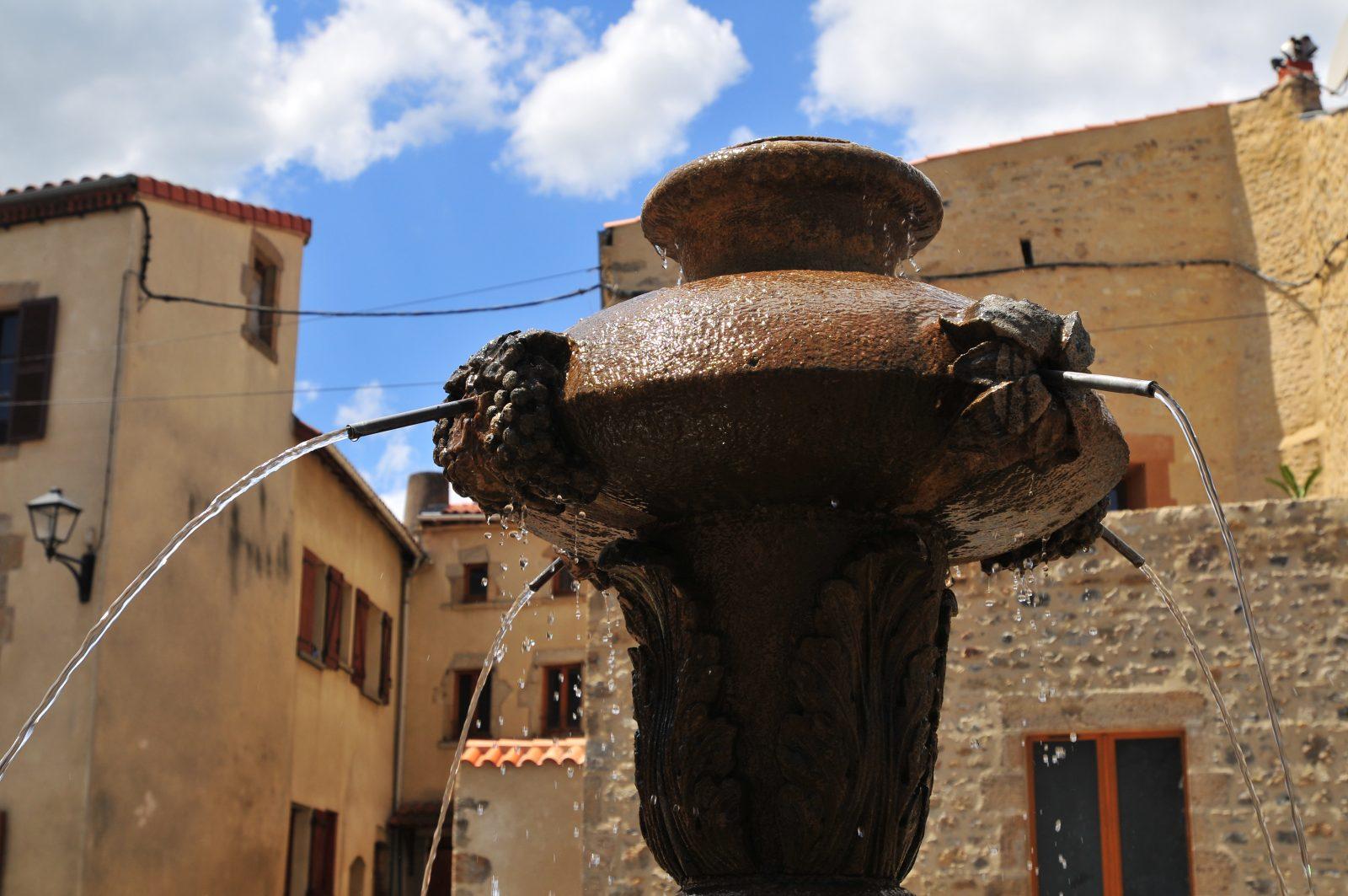 fontaines à Plauzat