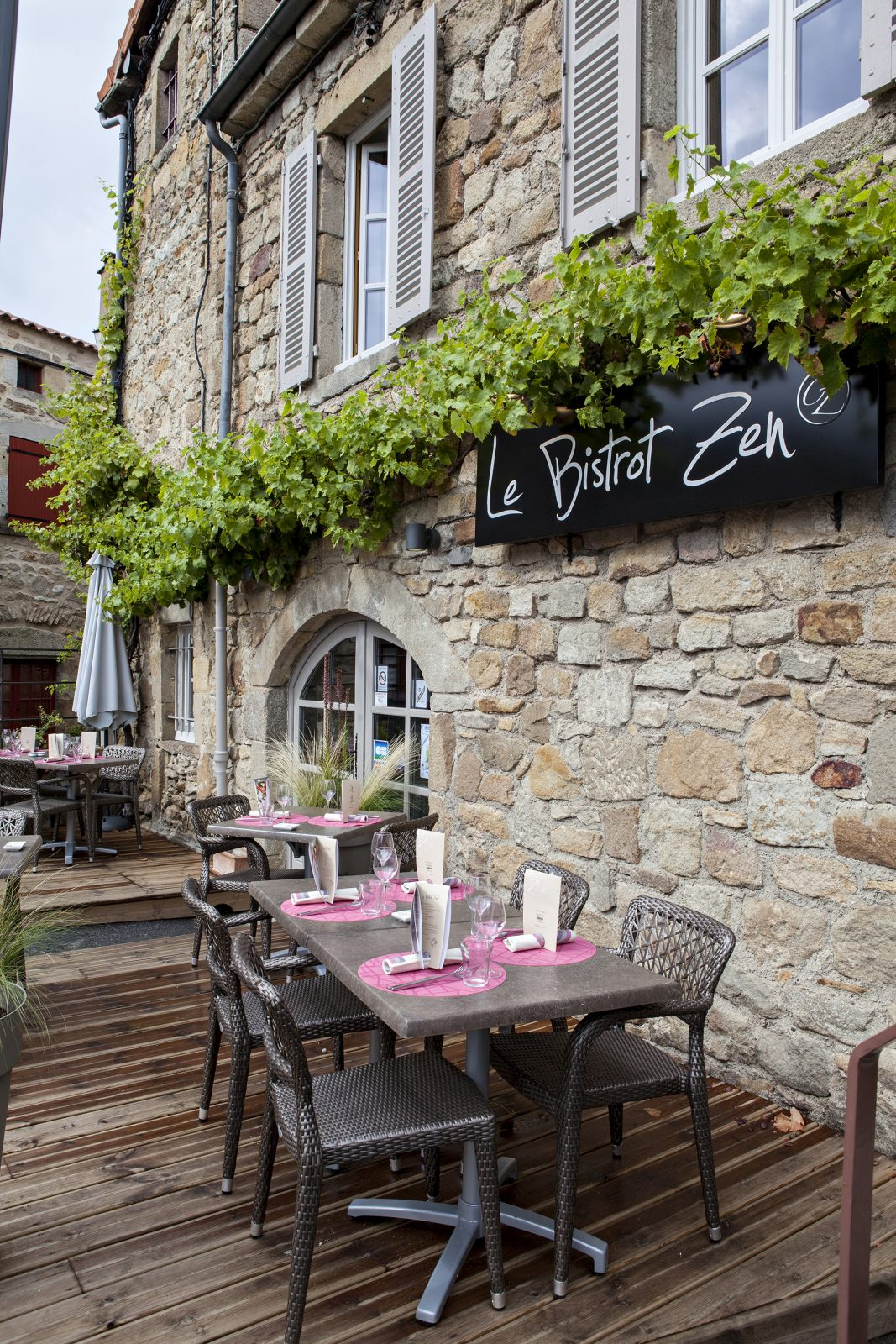 Le Bistrot Zen à Montpeyroux