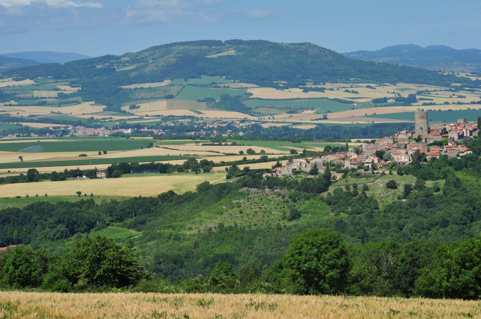 Vue sur Montpeyroux